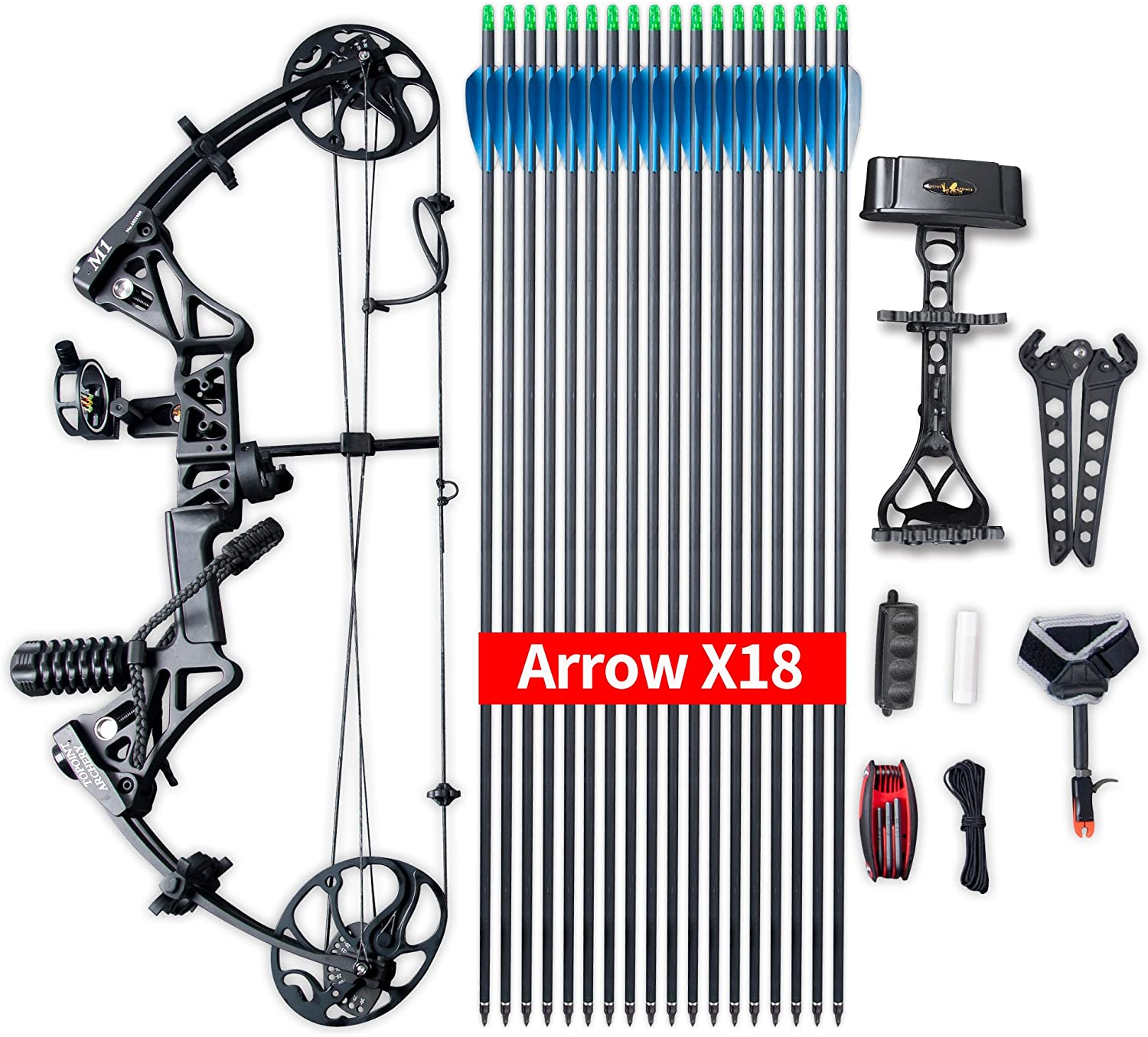 Compound Bow Topoint Archery Package M1
