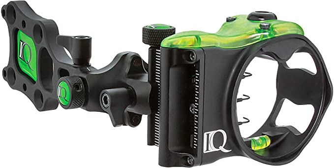 IQ Bowsight Micro 3 or 5 Pin Compound Bow Archery Sight plus Retina Lock Technology (Left and Right Hand)