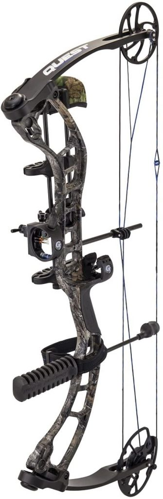 Quest Forge Package Bow, Realtree Xtra, Right Hand
